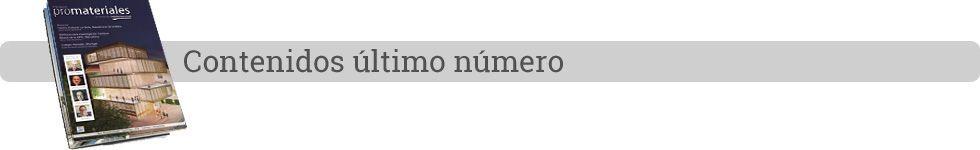 Ultimo número de Promateriales
